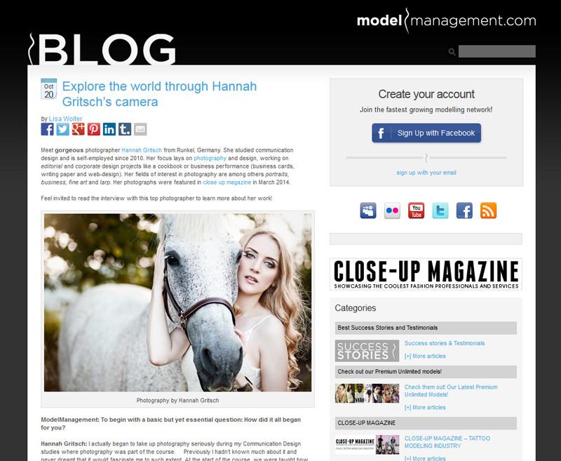 Interviews by Hannah Gritsch Photo & Design